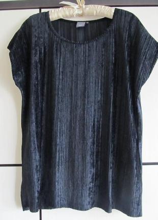 Шикарная бархатная блуза майка футболка