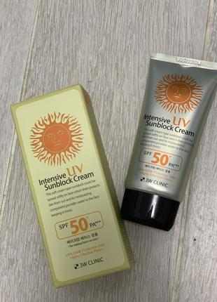 Солнцезащитный крем spf 50 \pa
