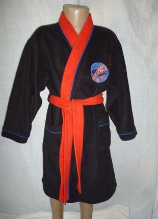Банный халат на 5-6 лет