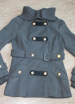 Кашемировая куртка с кружевом