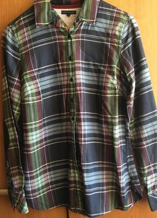 Фланелевая рубашка tommy hilfiger оригинал
