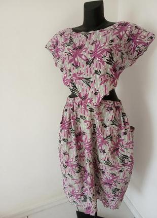 Винтажное летнее платье