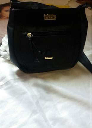 Новая кожаная сумка кросс-боди от известного французского бренда ted lapidus