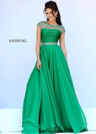 Выпускное, вечернее платье sherri hill 11181