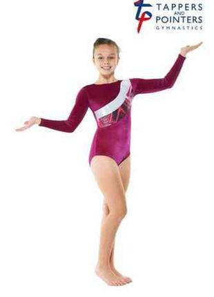 Tappers&pointers гимнастический купальник, трико р 3 а (на 11-12 лет)