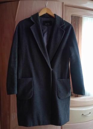 Пальто шерстяне lost ink