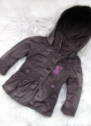 Стильная демисезонная куртка пальто  с капюшоном mexx