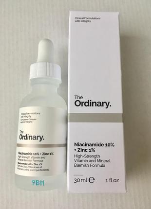 Сыворотка для проблемной кожи niacinamide 10% + zinc 1%3 фото
