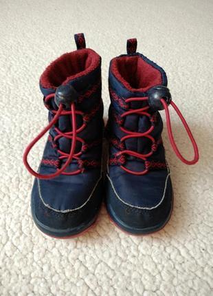 Термо ботинки сапоги tentex