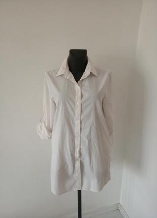 Легкая белая рубашка
