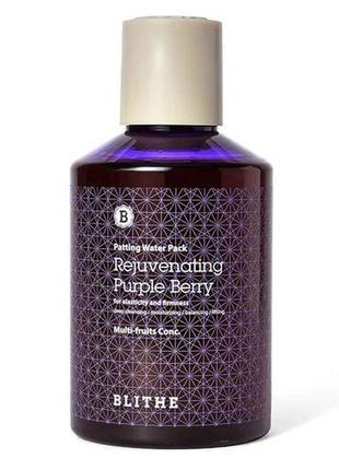 Омолаживающая сплэш-маска blithe patting splash mask purple berry