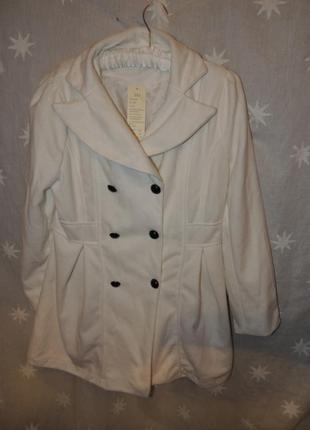 Белое пальто м