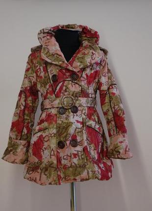 Куртка демисезонная для девочки р. 9 134-140