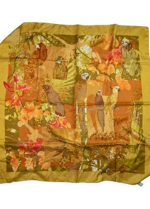 Оригинальный шелковый платок salvatore ferragamo