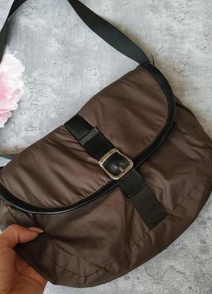 Сумка,сумочка почтальонка коричневая5 фото