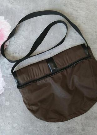 Сумка,сумочка почтальонка коричневая4 фото