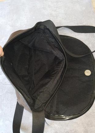 Сумка,сумочка почтальонка коричневая6 фото