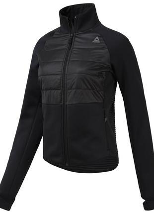Reebok утепленная стеганая куртка, кофта, thermowarm