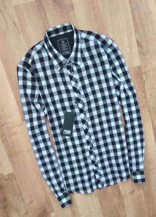 Новая с бирками мужская брендовая рубашка, привезена с польши.