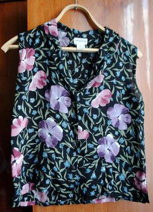 Цветочная блуза warehouse