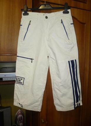 Фирменные коттоновые бриджи(штаны) для верховой езды,унисекс