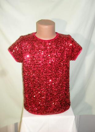 Нарядная блузка на 7-8лет