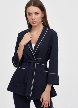 Жакет в пижамном стиле украинского бренда