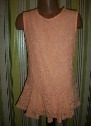 Нарядная блузка на 8 лет