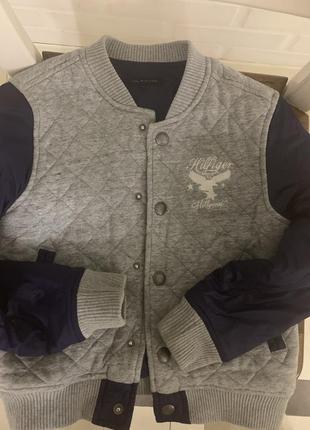 Стильная демиссизоная куртка tommy hilfiger оригинал 100% из австрии