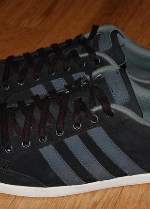 Кожаные кроссовки 43,5-44 р adidas neo оригинал  хорошее состояние