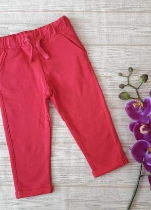 Яркие стильные штаны на девочку ovs италия