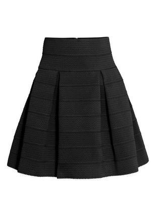 Бандажная юбка терракотового цвета