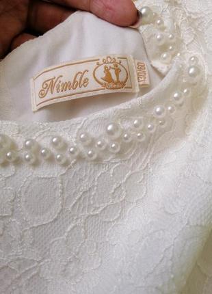 Выпускное платье nimble 130р.5 фото