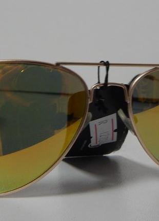 Зеркальные солнцезащитные очки-капельки canda