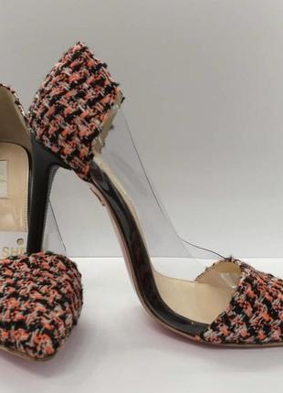 Туфли кожаные  нарядные  туфли на каблуке shulzhenko