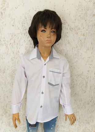 Стильная детская рубашка1 фото