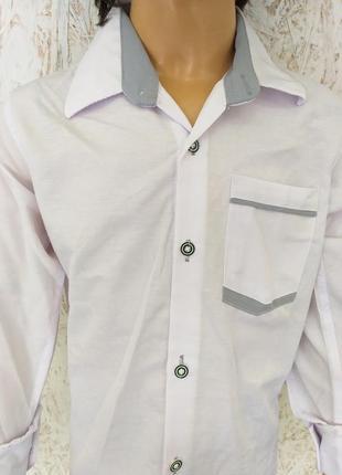 Стильная детская рубашка3 фото