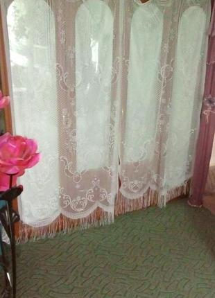 Ажурная штора/тюль/занавески/ткань/штора