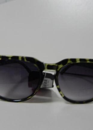 Солнцезащитные очки canda леопардовый принт