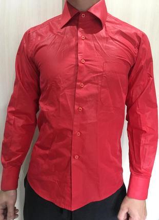 Красная рубашка від sigmen