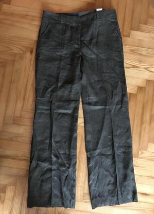 Новые льняные свободные брюки от tu! p.-12 long!