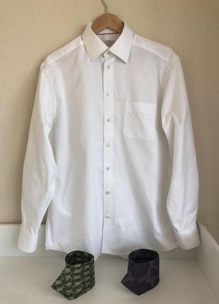 Рубашка eton kiton brioni
