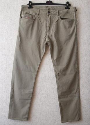 Летние джинсы diesel, бежевого цвета (r-buster-a)