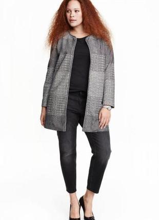 Оригинальное пальто от бренда h&m разм. 54