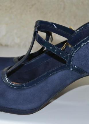 Clarks 37.5р туфли босоножки кожаные.