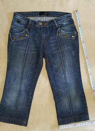 Укороченные джинсы (капри, бриджи)just cavali, италия
