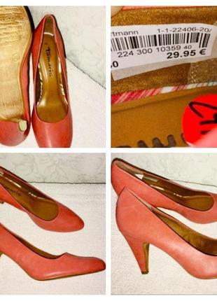 Продам фирменные женские туфли tamaris