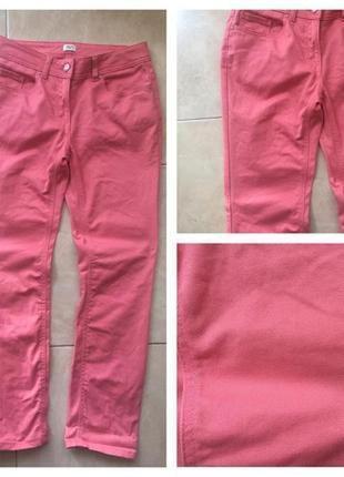 Джинсы розовые f&f размер 10