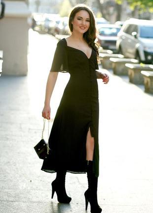 Платье fashion union с вырезом сердечком на пуговицах с сайта asos
