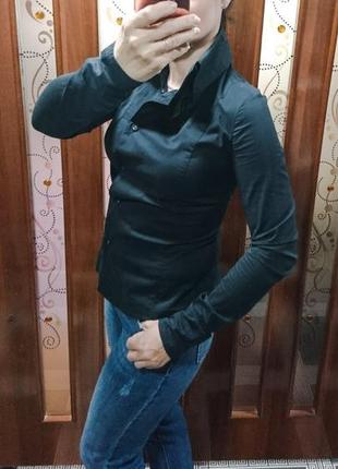 Базовая черная рубашка savage размер s